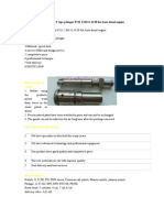 High Quality P Type Plunger P121 134151-4120 for Auto Diesel Engine