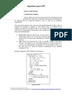 Algoritmos CSP (Codigo)