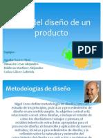 Ciclo del diseño de un producto