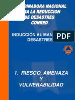 INDUCCIÓN AL MANEJO DE DESASTRES angy