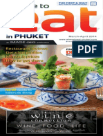 Where to Eat Phuket March - April 2014