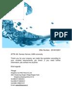 Filter Press Proposal