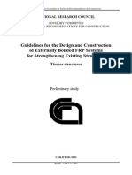 Guidelines for the Design of FRP TIMBER STRUCTURES