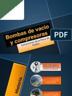 Bombas de vacío y compresoras