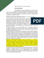 Resumen BOLÍVAR - El Currículum Escolar