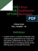 Green Shoe Option
