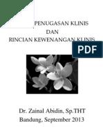 Dr Zainal - Surat Penugasan Klinis Dan Rincian Kewenangan Klinis