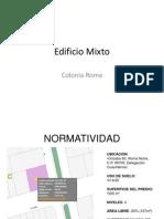 Estructura Urbana Col Roma