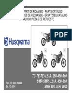 Husqvarna 2005 250-400-450-510 Parts