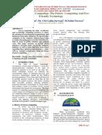 study on green computing