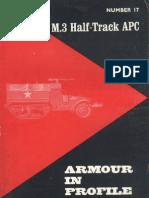 Armour in Profile 17 M-3 Half-Track Apc