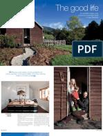 Sanctuary magazine issue 9 - The good life - Woodbridge, Tasmania green home profile