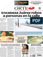 Periódico Norte edición impresa día 10 de marzo 2014
