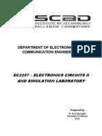 Electronics Circuits II Lab Manual_2