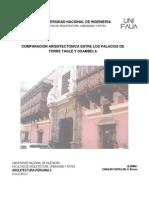 1er Informe Comparacion Viviendas Coloniales