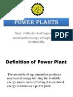 Basic Mechanical Engineeering- Power Plants