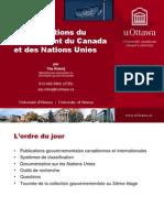 10 - Doc Gouv Du Canada Et NU