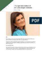 Pilar Sordo - Un Hombre Admira a Mujer Contenta