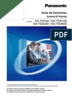 KX-TDA30 KX-TDA100 KX-TDA200 KX-TDA600 Guía de funciones PSMPR PMPR PLMPR V.5.0000_