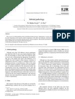 Orbital Pathology, EJR 2004