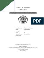 Cover Praktikum Kimia Dasar