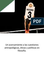 Cuestiones de antropología