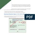 Cara Resetter Epson L100 Dan L200 Adalah L110 Dan L210