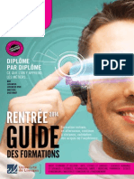 GUIDE Des Formations - Rentree 2014
