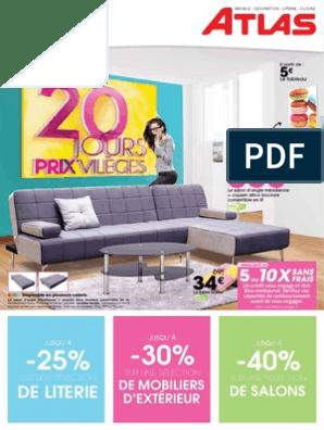 a4cata 20jours Privileges Fev2014 | Matelas | Lit