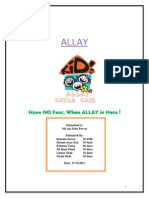Allay Final Marketing Report