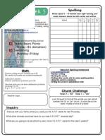 Homework Sheet-Term1 Week5