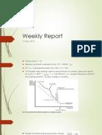 Weekly Report 14May,2013