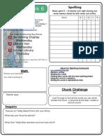 Homework Sheet-Term1 Week6