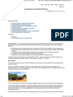Economic and Social Consequences of Animal Diseases