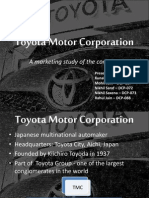Marketing Approach of Toyota