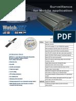 Watchnet x11 Mobile Dvr Spec Sheet