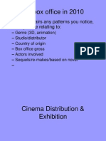 6 Cinema Distribution & Exhibition