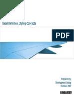 Seat Styling - Bezel Definition - Styling