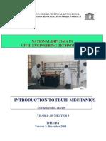 Cec 107 Theory - Introduction to Fluid Mechanics