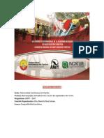 8° congreso internacional y 1° nacional de  investigación turística
