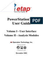 Etap PowerStation® 4.0-User Guide-Dr Tarek Nagla