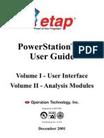 Etap PowerStation® 4.0-User Guide-Dr Tarek Nagla