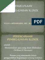 Metsus Pembelajaran Klinik (Pra)
