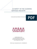 Cleaning Workers Training