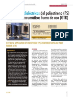 Aplicaciones dieléctricas del poliestireno (PS)