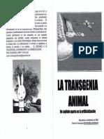 La Transgenia Animal