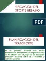 CLASE 1. TRANSPORTE URBANO.PLANIFICACIÓN