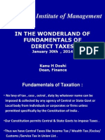 Lecture1-Fundamentals of Direct Taxes - 8.2.2013