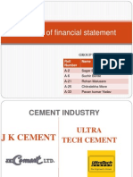 Analysis of Financial Statement (1)