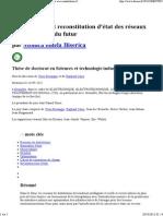 theses.fr – Monica ionela Biserica, Observabilité et reconstitution d'état des réseaux de distribution du futur